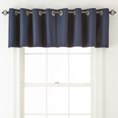 Liz Claiborne Quinn Grommet-Top Tailored Valance