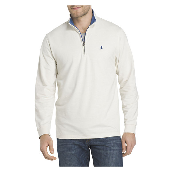 IZOD Mock Neck Long Sleeve Pullover Sweater