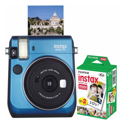 Fujifilm Instax Mini 70 Instant Photo Camera Bundle