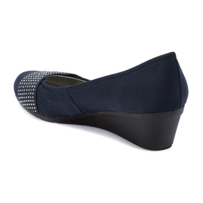 Andrew Geller Ag Senona Womens Round Toe Slip-On Shoes