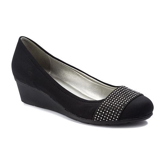 Andrew Geller Ag Senona Womens Round Toe Slip-On Shoes