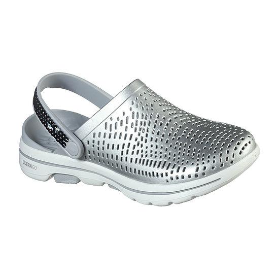 Skechers Womens Go Walk 5 Elegance Slingback Strap Flat Sandals