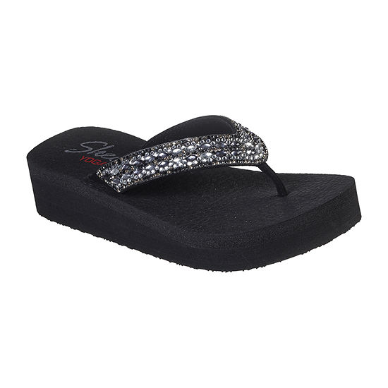 Skechers Womens Vinyasa - Glory Day Flip-Flops