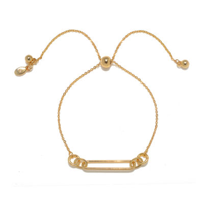 Bijoux Bar Link Round Bolo Bracelet