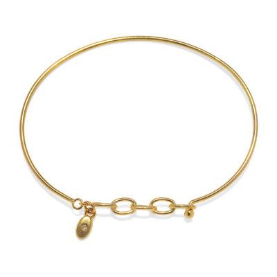 Bijoux Bar Link Round Cuff Bracelet