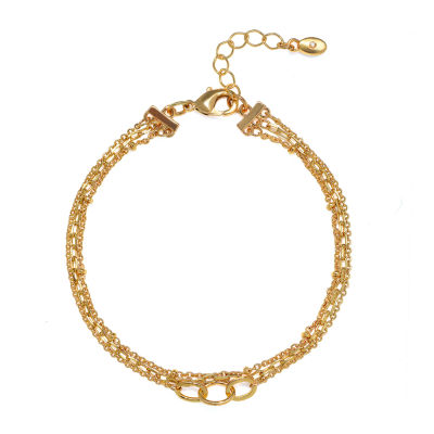 Bijoux Bar 7 Inch Link Round Chain Bracelet