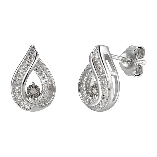 Sparkle Allure Diamond Accent Ear Climbers