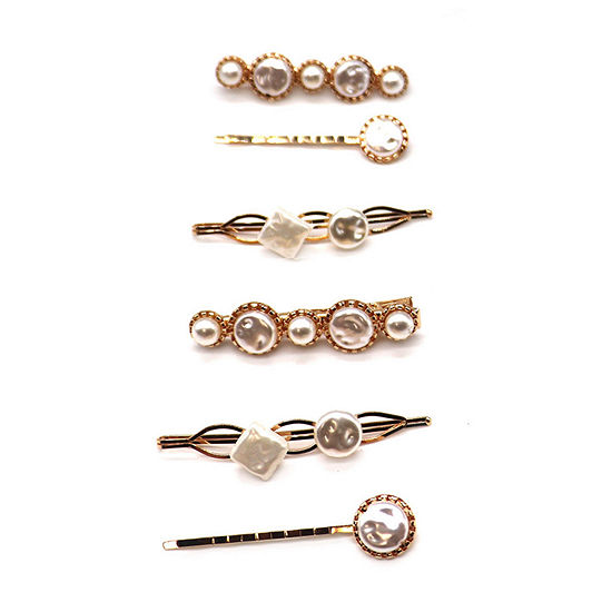 Mixit Simulated Pearl 6-pc. Hair Clip