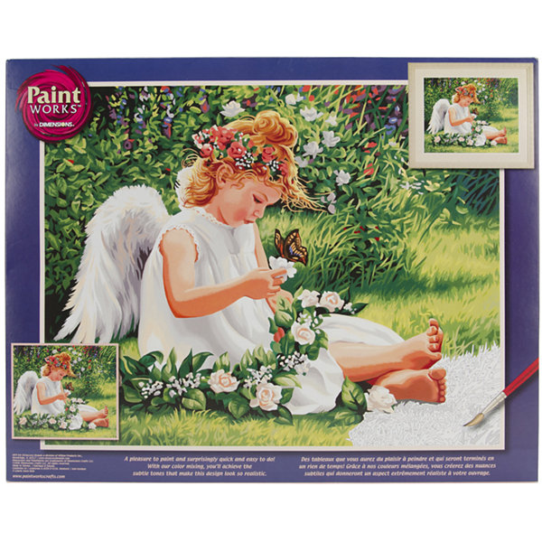 "Paint By Number Kit 20X16""- Darling Angel"