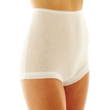 Underscore Cotton Band Leg 3 Pair Knit Brief Panty 2819813