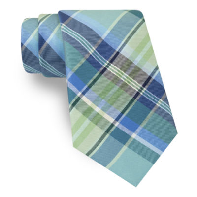 Stafford® Plaid Tie - Regular