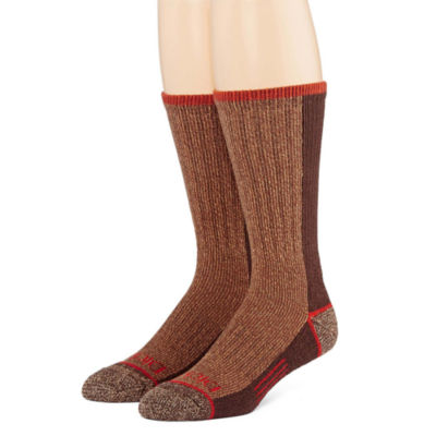 Dickies® Mens 2-Pk. Steel Toe Crew Socks