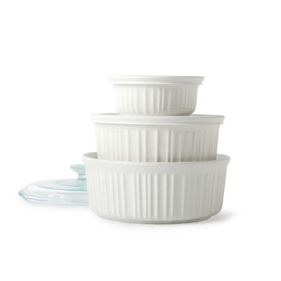 CorningWare® French White® 6-pc. Bakeware Set