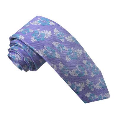Stafford® Linen Look Floral Tie