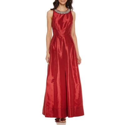 Melrose Sleeveless Beaded Gown
