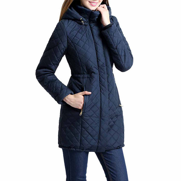 Angela Quilted Parka Coat