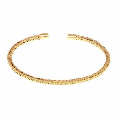 Womens Stainless Steel Bangle Bracelet