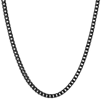 Solid Wheat Chain Necklace