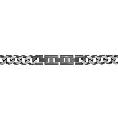 Stainless Steel Solid Curb Chain Necklace