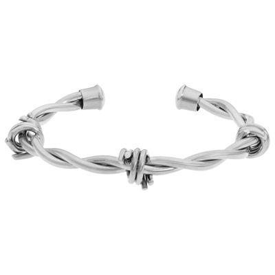 Mens Stainless Steel Bangle Bracelet