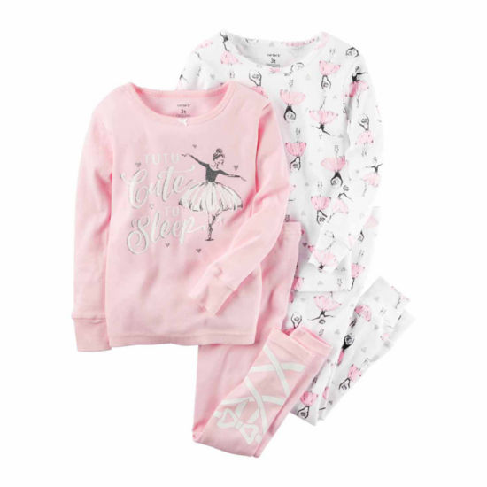 Carter's Girls Long Sleeve 4pc Set
