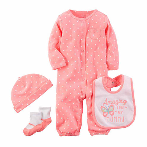 Carter's 4-pc. Layette Set-Baby Girls