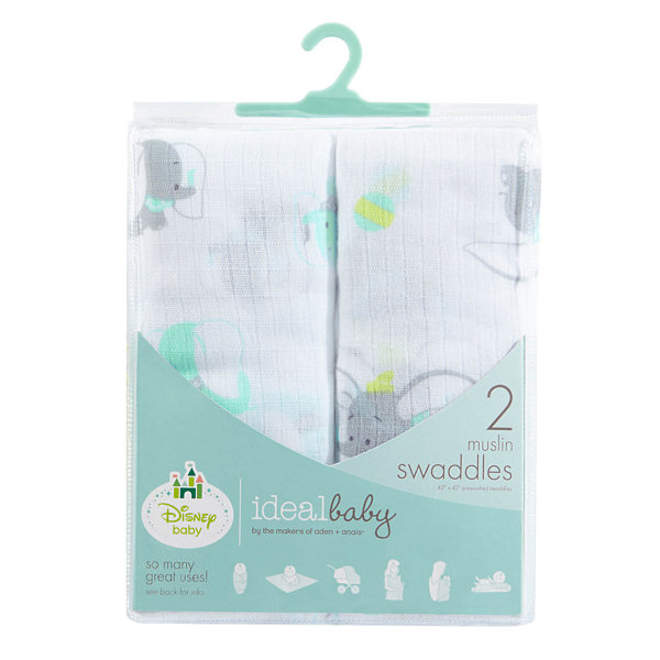 Ideal Baby 2-pc. Dumbo Swaddle Blanket