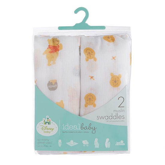 5c78cf498c64 Ideal Baby 2-pc. Winnie the Pooh Swaddle Blanket - JCPenney