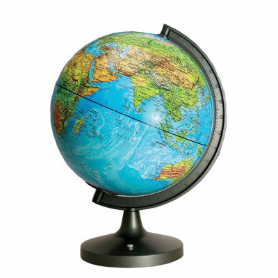 11 Dual Cartography Illuminated Globe
