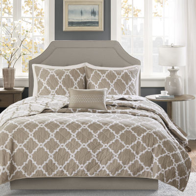 Madison Park Diablo Reversible 4-pc. Coverlet Set