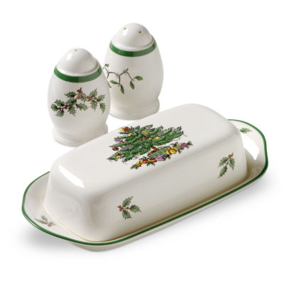 Spode Christmas Tree 3-pc. Serving Set