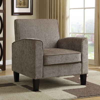 Home Meridian Fabric Club Chair