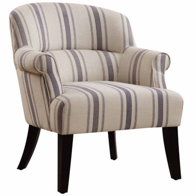 Home Meridian Fabric Arm Chair