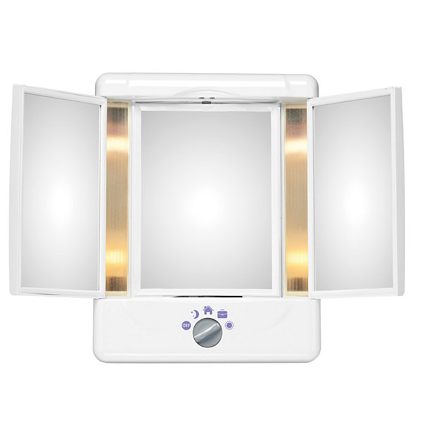 Conair double sided lighted makeup mirror jcpenney conair double sided lighted makeup mirror mozeypictures Gallery