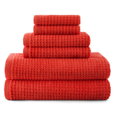 JCPenney Home™ Quick-Dri™ Solid Bath Towels