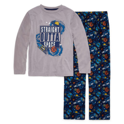 Straight Outta Space 2 Piece Pajama Set - Boys 4-20