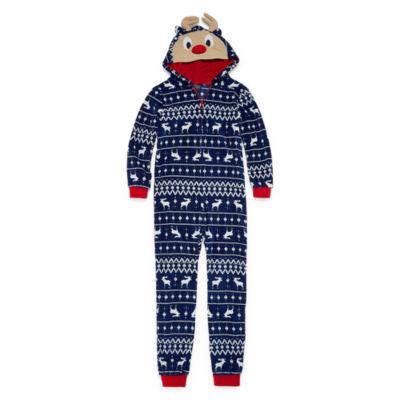 Reindeer One Piece Pajama - Boys 4-20