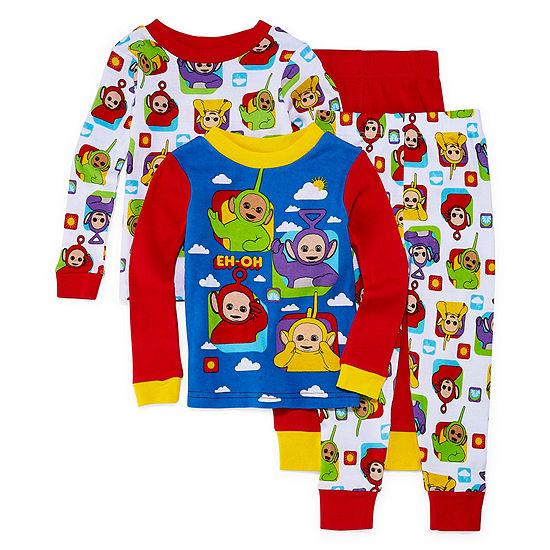 Boys 4-pc. Pajama Set Toddler