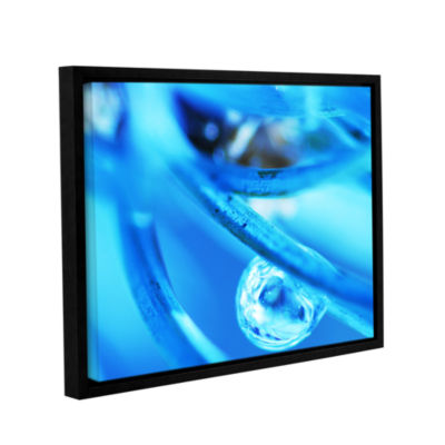 Blue Reflection Gallery Wrapped Floater-Framed Canvas Wall Art