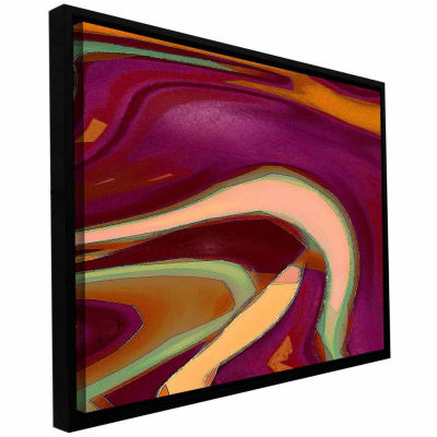 Brushstone Broadcast Gallery Wrapped Floater-Framed Canvas Wall Art