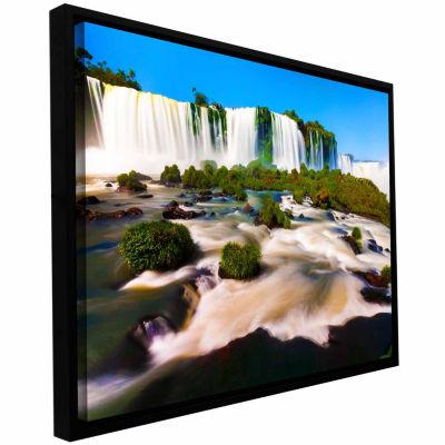 Brushtone Brazil 2 Gallery Wrapped Floater-Framed Canvas Wall Art
