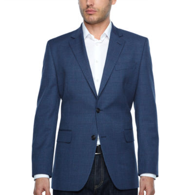 Stafford Year Round Stretch Classic Fit Gingham Sport Coat