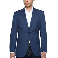 Deals on Stafford Year Round Stretch Classic Fit Gingham Sport Coat