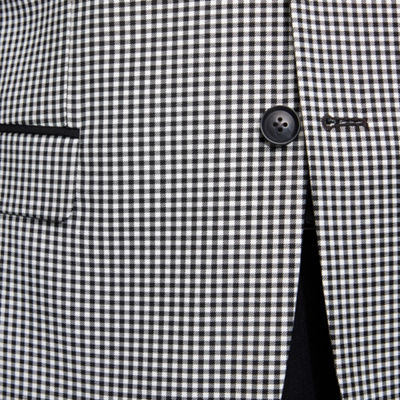 JF J.Ferrar Slim Fit Gingham Sport Coat - Slim