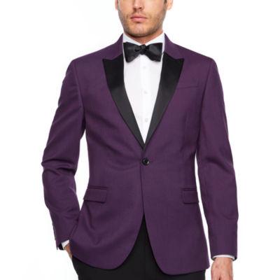 JF J.Ferrar Slim Fit Stretch Tuxedo Jacket - Slim