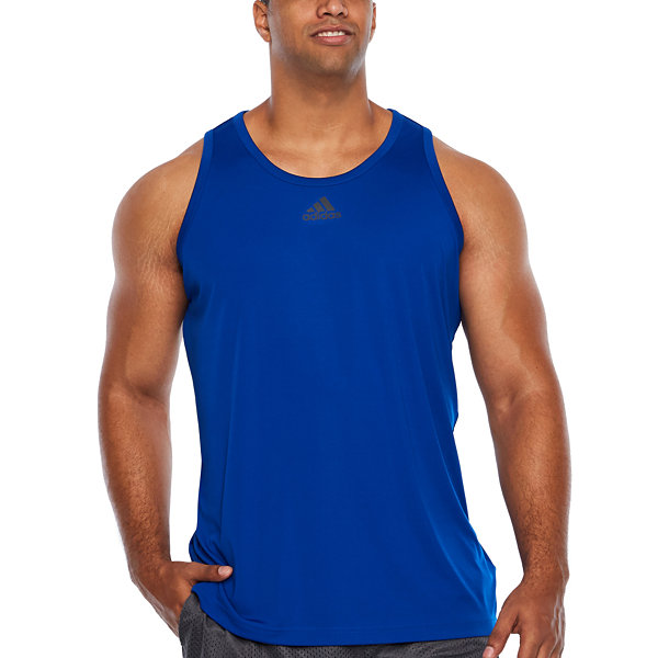 adidas 3g Heathered Tank Top - Big and Tall