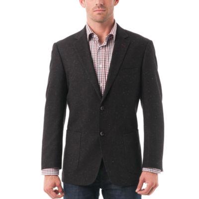 Men's Wool-blend Textured BlazerVerno Suit Jacket