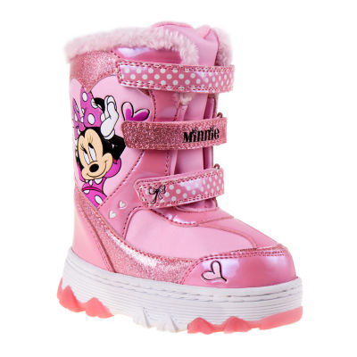 Disney Minnie Mouse Girls Snow Boots - Toddler