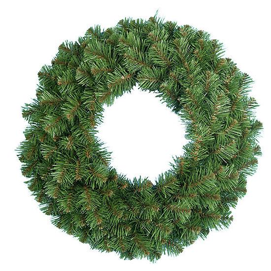 """Kurt Adler 30"""" Virginia Pine Indoor Christmas Wreath"""
