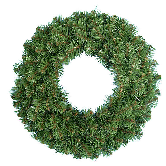 "Kurt Adler 24"" Virginia Pine Indoor Christmas Wreath"
